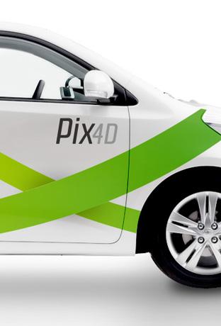 Pix4D – Branding and Visual Identity   kinobrand design